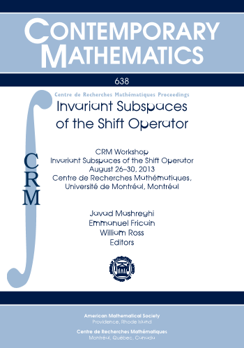 Invariant Subspaces of the Shift Operator cover image