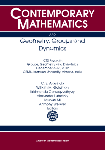 Geometry, Groups and Dynamics cover image