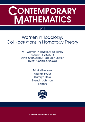 Women in Topology: Collaborations in Homotopy Theory cover image