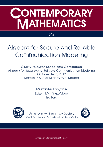 Algebra for Secure and Reliable Communication Modeling cover image