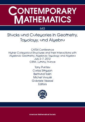 Stacks and Categories in Geometry, Topology, and Algebra cover image