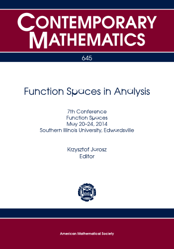 Function Spaces in Analysis cover image