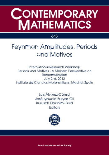 Feynman Amplitudes, Periods and Motives cover image