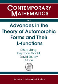 Advances in the Theory of Automorphic Forms and Their $L$-functions cover image