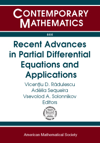 Recent Advances in Partial Differential Equations and Applications cover image