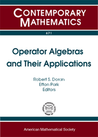 Operator Algebras and Their Applications: A Tribute to Richard V. Kadison cover image
