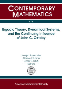 Ergodic Theory, Dynamical Systems, and the Continuing Influence of John C. Oxtoby cover image