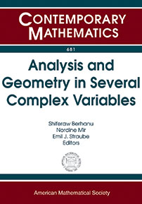 Analysis and Geometry in Several Complex Variables cover image