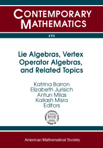 Lie Algebras, Vertex Operator Algebras, and Related Topics cover image
