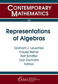Representations of Algebras cover image