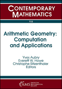 Arithmetic Geometry: Computation and Applications cover image