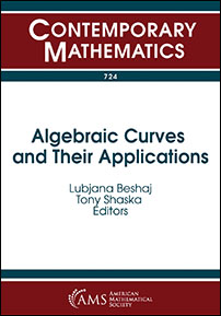 Algebraic Curves and Their Applications cover image