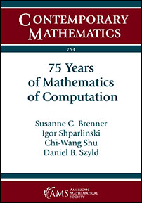 75 Years of Mathematics of Computation cover image