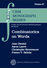 Combinatorics on Words: Christoffel Words and Repetitions in Words cover image