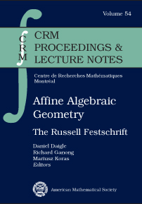 Affine Algebraic Geometry: The Russell Festschrift cover image