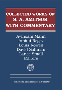 Selected Papers of S. A. Amitsur with Commentary cover image