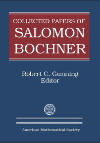 Collected Papers of Salomon Bochner cover image