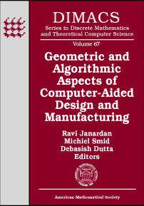 Geometric and Algorithmic Aspects of Computer-Aided Design and Manufacturing cover image
