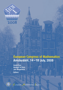 European Congress of Mathematics: Amsterdam, July 14-18, 2008 cover image