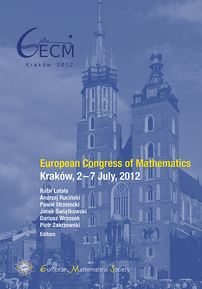 European Congress of Mathematics: Krakow, July 2-7, 2012 cover image