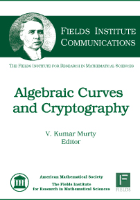 Algebraic Curves and Cryptography cover image