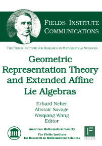 Geometric Representation Theory and Extended Affine Lie Algebras cover image