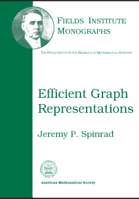 Efficient Graph Representations cover image