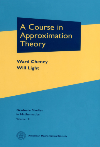 A Course in Approximation Theory cover image