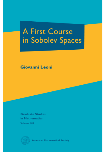 A First Course in Sobolev Spaces cover image