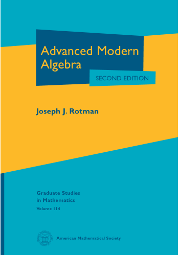 Advanced Modern Algebra: Second Edition cover image
