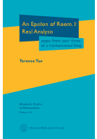 An Epsilon of Room, I: Real Analysis: pages from year three of a
