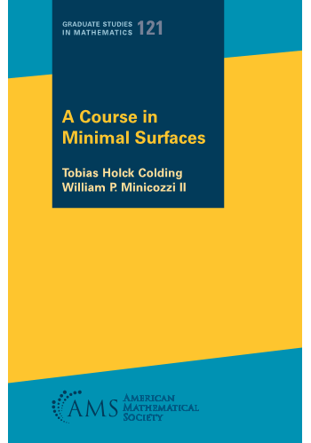 A Course in Minimal Surfaces cover image