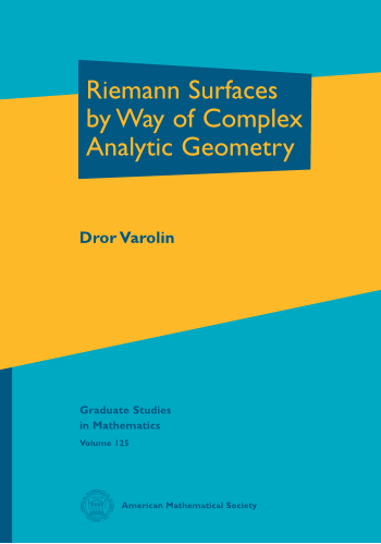 Riemann Surfaces by Way of Complex Analytic Geometry cover image