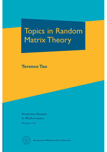 Topics in Random Matrix Theory cover image