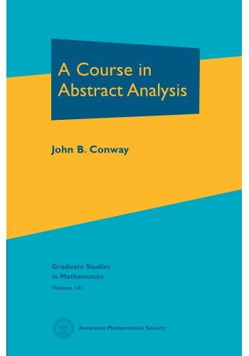 A Course in Abstract Analysis cover image