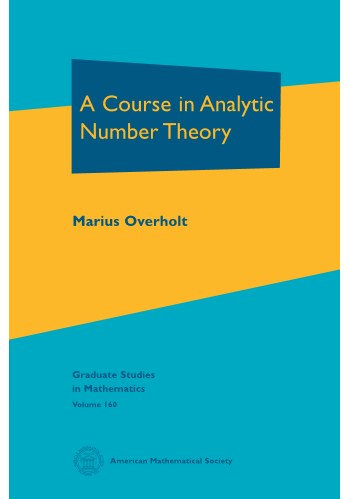 A Course in Analytic Number Theory cover image