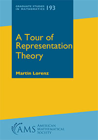 A Tour of Representation Theory cover image