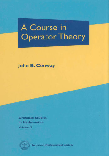 A Course in Operator Theory cover image