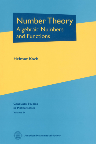 Number Theory: Algebraic Numbers and Functions cover image