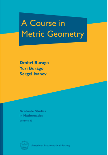 A Course in Metric Geometry cover image
