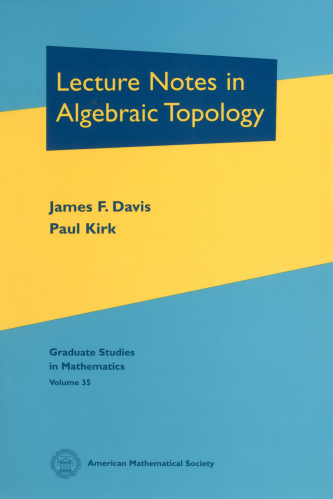 Lecture Notes in Algebraic Topology cover image