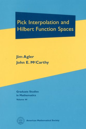 Pick Interpolation and Hilbert Function Spaces cover image