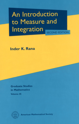 An Introduction to Measure and Integration: Second Edition cover image