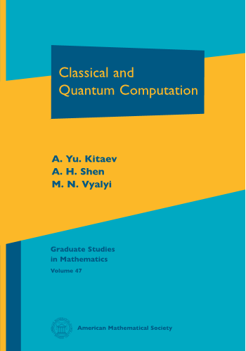 Classical and Quantum Computation cover image