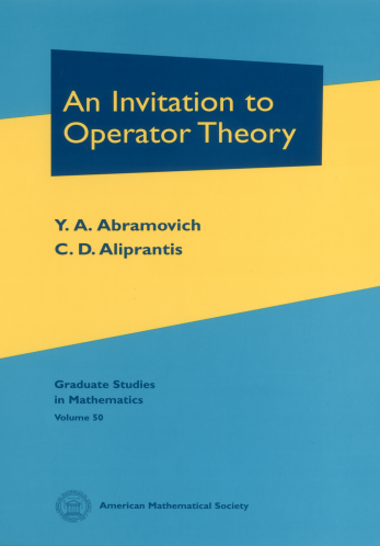 An Invitation to Operator Theory cover image