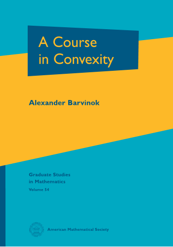 A Course in Convexity cover image