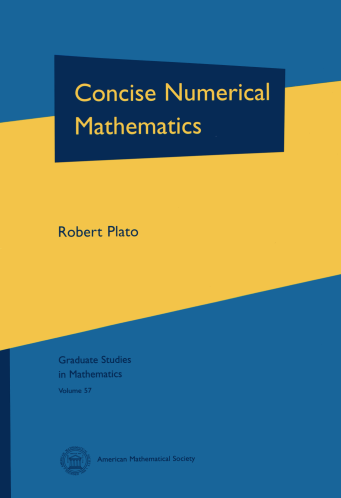 Concise Numerical Mathematics cover image