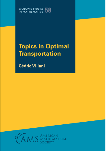 Topics in Optimal Transportation cover image