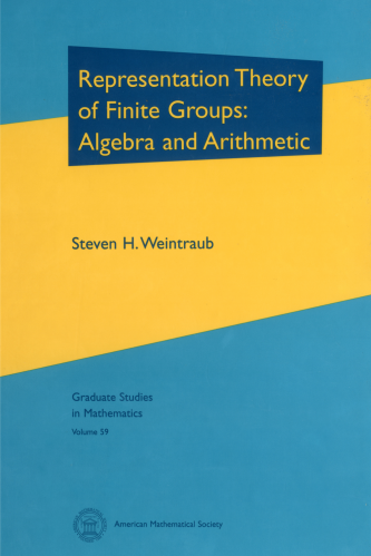 Representation Theory of Finite Groups: Algebra and Arithmetic cover image