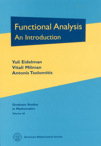 Functional Analysis: An Introduction cover image